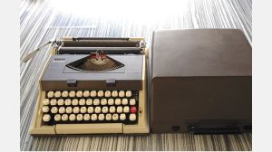 Typewriter vintage model Massa 3000
