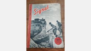 Very rare signal magazine ww2 Original N1 October 1942 french edition war relic